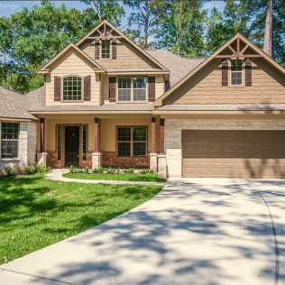 Custom Home Roman Forest New Caney TX
